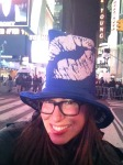 sporting the official NYE Nivea hat